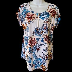Lily Morgan floral blouse camisole